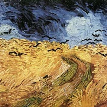 Wheatfield with Crows by Vincent Van Gogh Fine Art Print