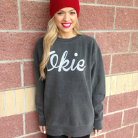 Okie comfort colors sweatshirt