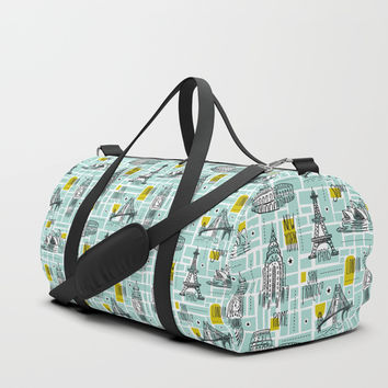 Globetrotter Duffle Bag by Heather Dutton