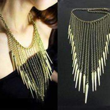 Edgy Icicles Necklace