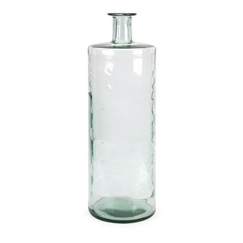 Vettriano Tall Oversized Recycled Glass Vase
