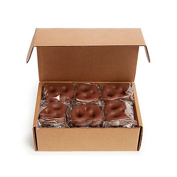 Milk Chocolate Covered Bavarian Pretzels, 24 pc. | GODIVA