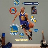 Fathead Golden State Warriors Stephen Curry Wall Decals