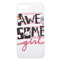 Awesome Girl iPhone 8/7 Case