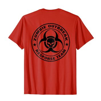 ZOMBIE KILLER T SHIRT Response Team BACK PRINT
