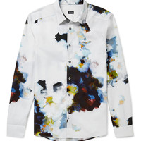 PS by Paul Smith - Slim-Fit Printed Cotton Shirt | MR PORTER