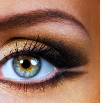 Grace My Face Minerals Glamour Eye Shadow, 24 K Gold