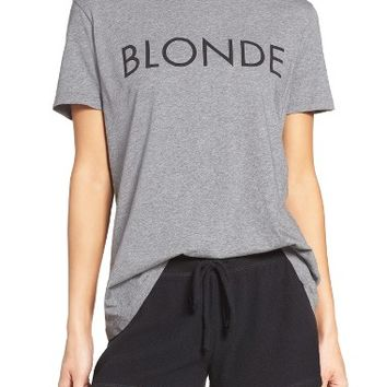 BRUNETTE The Ryan - Blonde Lounge Tee | Nordstrom