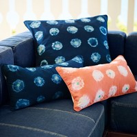Tie Dye Dot Pillow Cover