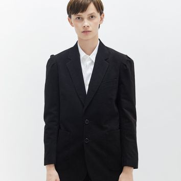 Puff Shoulder Cotton Blazer by Hope- La Garçonne