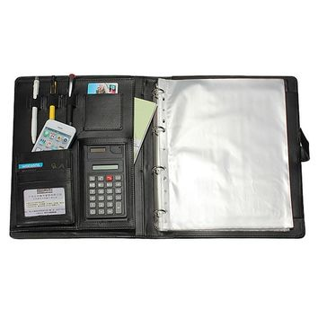 Office stationery multi - functional A4 contract signing file folder sales negotiation carpetas pasta escola