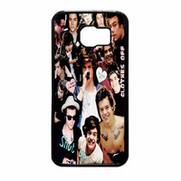 Harry Styles One Direction Collage Clothes Off Samsung Galaxy S6 Case