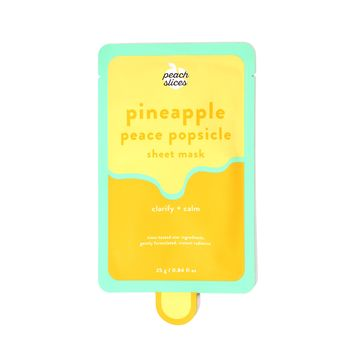 Pineapple Peace Popsicle Sheet Mask