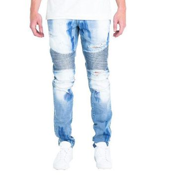 Embellish Nyc Wilma Jeans In Light Blue - Beauty Ticks