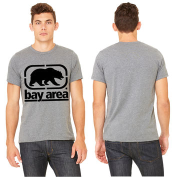 bay area front Bear T-shirt