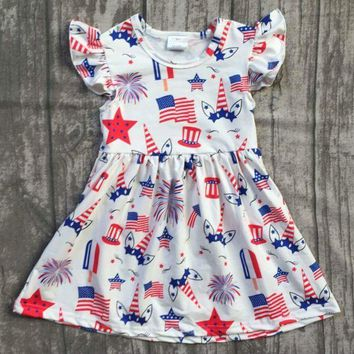 PRE-ORDER - PATRIOTIC UNICORN DRESS - CLOSES 04/06