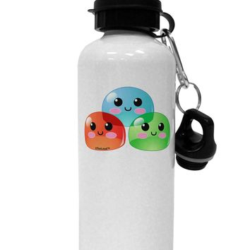 Cute RPG Slime - Trio Aluminum 600ml Water Bottle by TooLoud