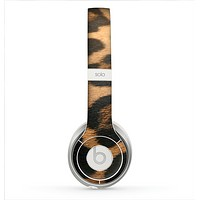 The Real Thin Vector Leopard Print Skin for the Beats by Dre Solo 2 Headphones