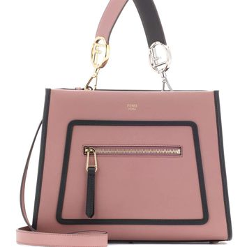 Runway Small leather shoulder bag