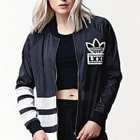 adidas Berlin 3 Stripe Track Jacket at PacSun.com