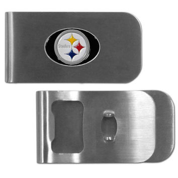 Pittsburgh Steelers Bottle Opener Money Clip FMC160BO