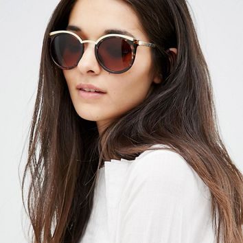 Vero Moda Tortoise Shell Cat Eye Sunglasses at asos.com