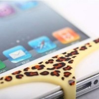 Lovely Pants Underwear Swim Suit Decoration for iphone (Leopard):Amazon:Cell Phones & Accessories