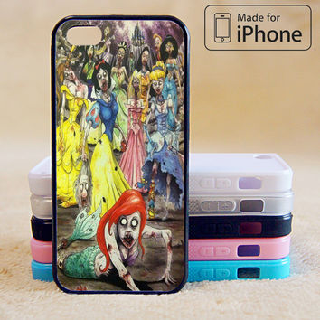 Disney Zombie Princess Phone Case For iPhone 6 Plus For iPhone 6 For iPhone 5/5S For iPhone 4/4S For iPhone 5C3 iPhone X 8 8 Plus
