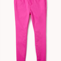 Electric Neon Skinny Jeans