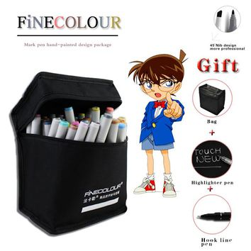 Factory Price 160 Colors Art Marker Double Headed Sketch Marker Pen Set Painting Sketch Professional Art Copic Marker Pens