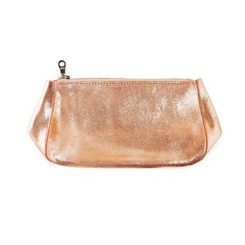 Tracey Tanner Rose Gold Sparkle Cosmetics Pouch