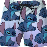Stitch Swim Trunks