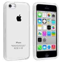 Insten Snap-in Slim Case for iPhone 5C - Retail Packaging - Clear