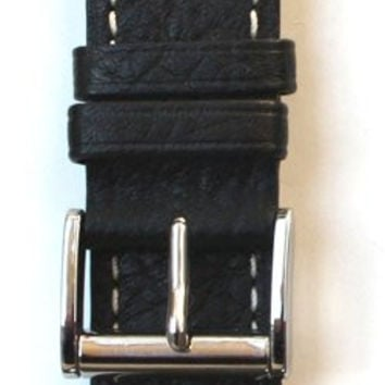 Toscana Genuine Leather Watch Strap with Roller Buckle