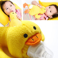 Cute Plush Baby Animal Bottle Holder