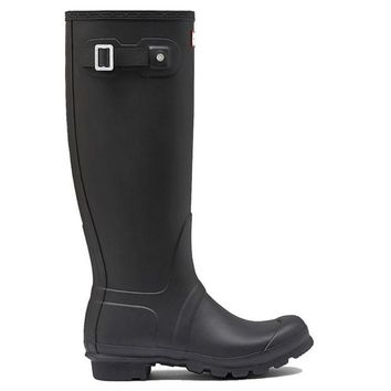 ONETOW Hunter Original Tall - Flat Black Rain Boot