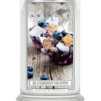 Blueberry Muffin | Large Classic Jar (22oz) 2-wick | Kringle Candle