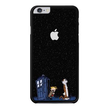 Calvin And Hobbes Apple Tardis iPhone 6 Plus / 6S Plus Case