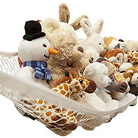 Toy Hammock by Freddie and Sebbie - Luxury Jumbo Toy Hammock Storage Net For Stuffed Animals, Excellent For Nursery Storage, Toys Games Organization & Hanging Organizers