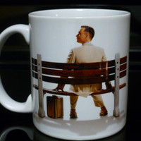 Coffee Mug  Classic Forrest Gump Custom by CreateItYourWay on Etsy
