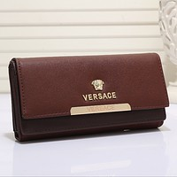 VESSACE Women Fashion Leather Purse Wallet