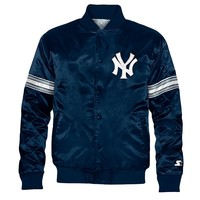Starter New York Yankees Satin Varsity Lightweight Jacket