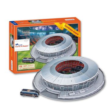 3D puzzle DIY Sport Estadio Donbass Arena Stadium