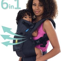 SIX-Position, 360° Ergonomic Baby & Child Carrier by LILLEbaby – The COMPLETE Airflow (All Charcoal)