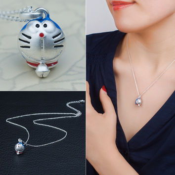 Gift Shiny Stylish New Arrival Jewelry Cats Cartoons Pendant Hot Sale Necklace [4914840196]