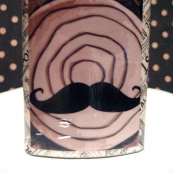 Stache Flask 8oz stainless steel resin covered by HarmlessHabit