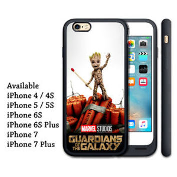 Baby Groot Guardians Of The Galaxy Print On Hard Cover Case For iPhone 7 plus