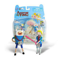 Exclusive San Diego Comic-Con 2012 Adventure Time Action Figures - Finn & Fiona