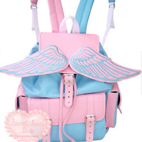 Pastel Winged Backpack