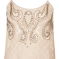 **EMBELLISHED TOP BY TFNC